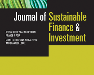 journal of sustainable finance and investment